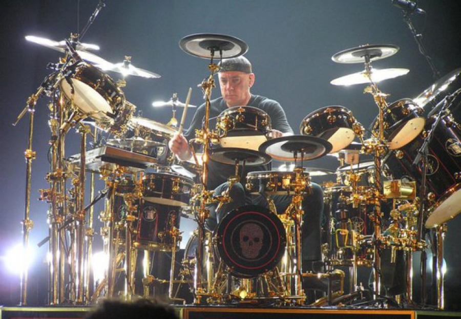 Neil Peart - one of the world's greatest drummers
