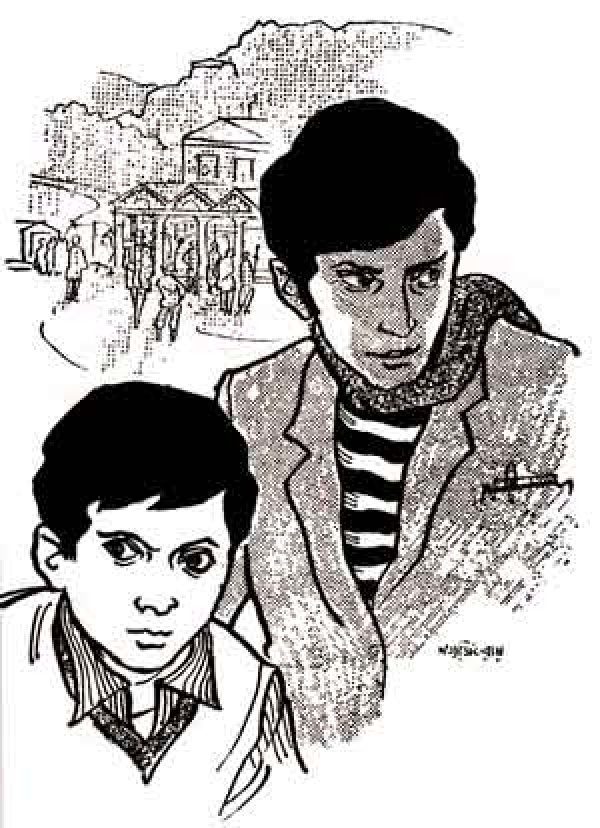A tribute to Feluda