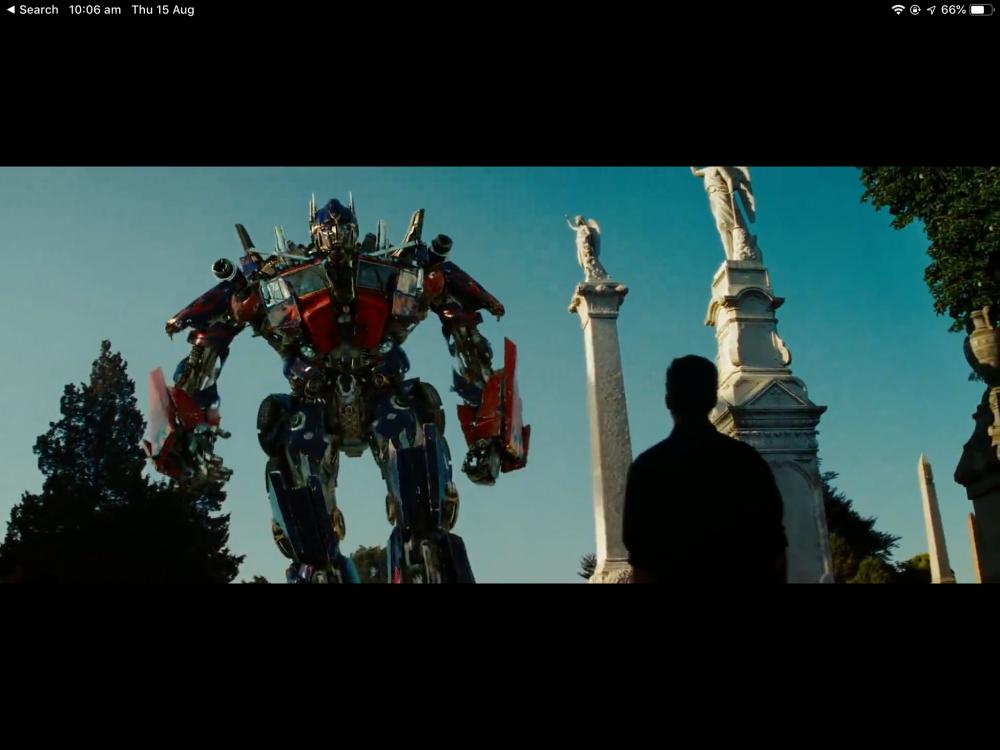 The Memorial Of Autobot Jazz