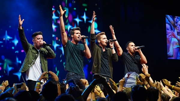 """Opportunities like these come once in a lifetime"" - mine happened 4 years ago - Big Time Rush"