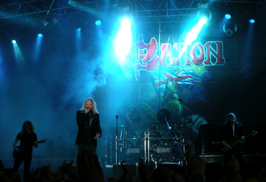 Saxon - one of the great British heavy metal bands