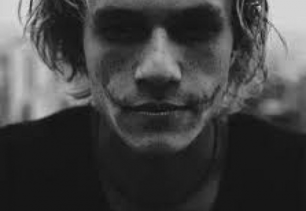 The Joker in Ledger - Heath Ledger