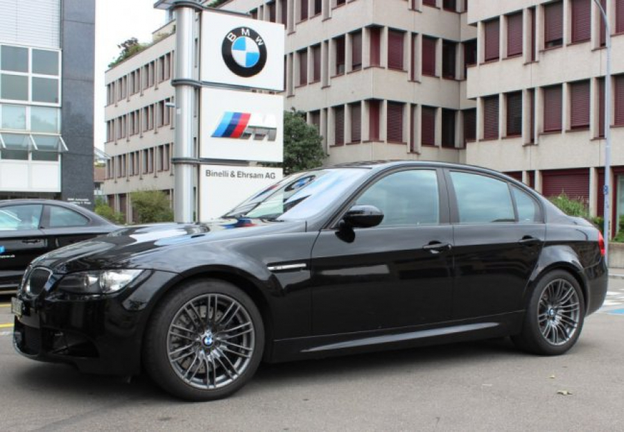 The BMW M3 - a saloon car with supercar performance