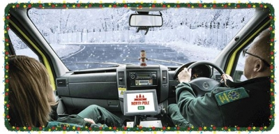 Thank you to North East Ambulance Service staff