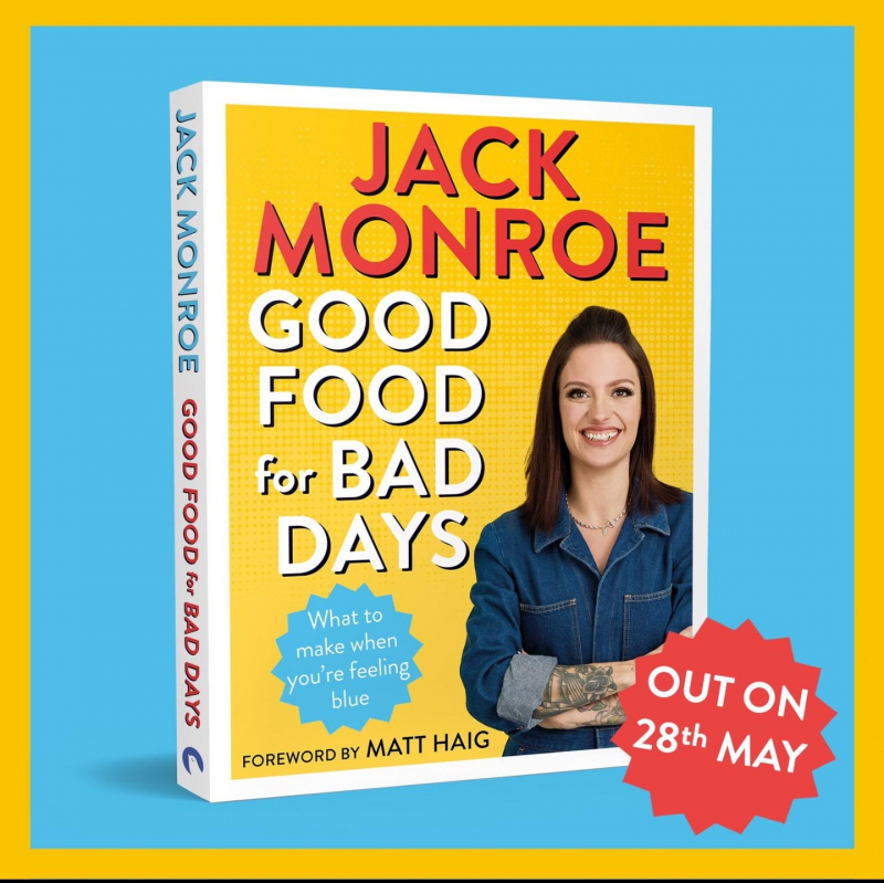 Jack Monroe - award-winning cook, best-selling author, anti-austerity campaigner
